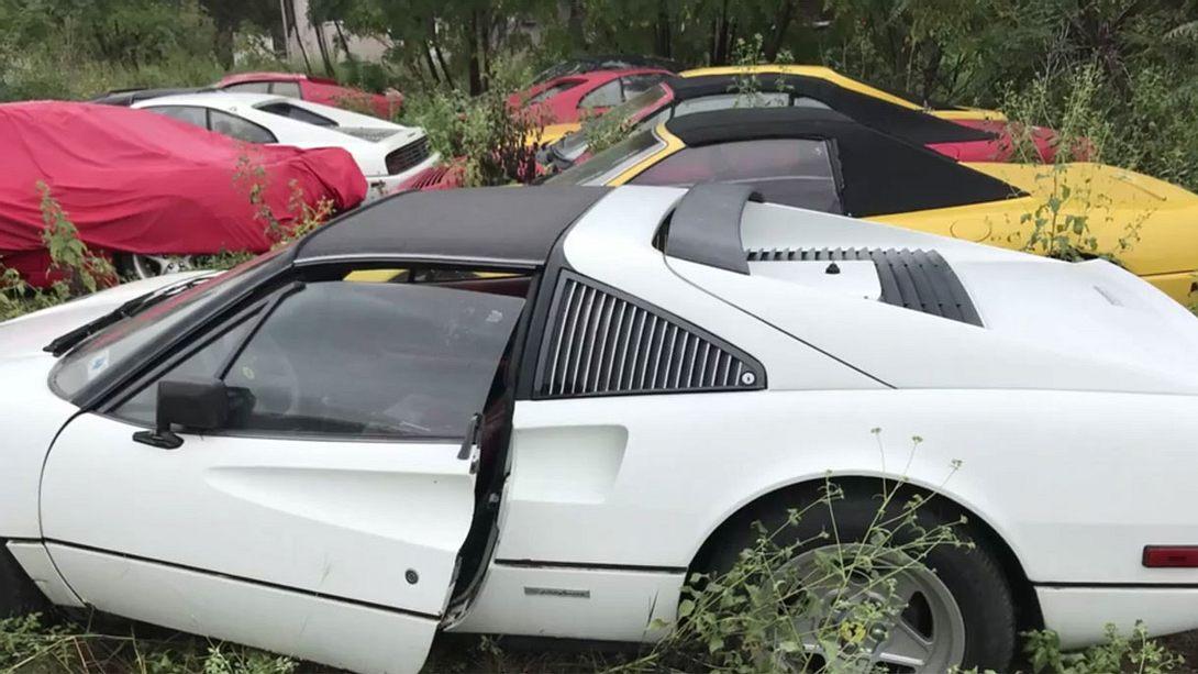 Verrottende Ferraris - Foto: silodrome.com