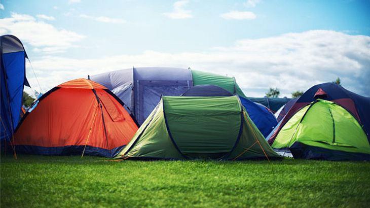 Die besten Festival-Zelte