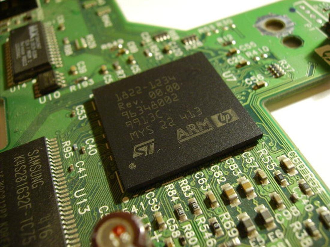 Eine Smartphone-Festplatte