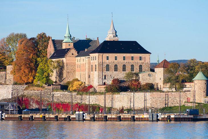 Festung Akershus in Oslo.