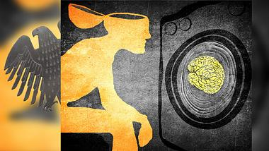 Betreibt die Bundesregierung insgeheim Gehirnwäsche? - Foto: iStock / lolloj; hanohiki