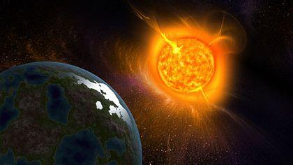 Ein Feuerball ist an der Erde wahrnehmbar vorbei gerast (Symbolfoto) - Foto: iStock/Pobytov
