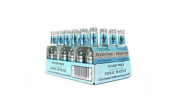 Der Exot: Fever-Tree Mediterranean Tonic Water 24 x 0,2 Liter