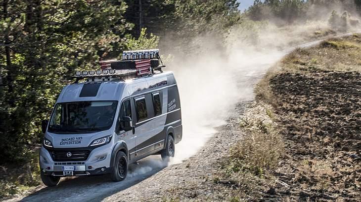 Der Fiat Ducato 4x4 Expedition: Ein Camper Van für alle Fälle