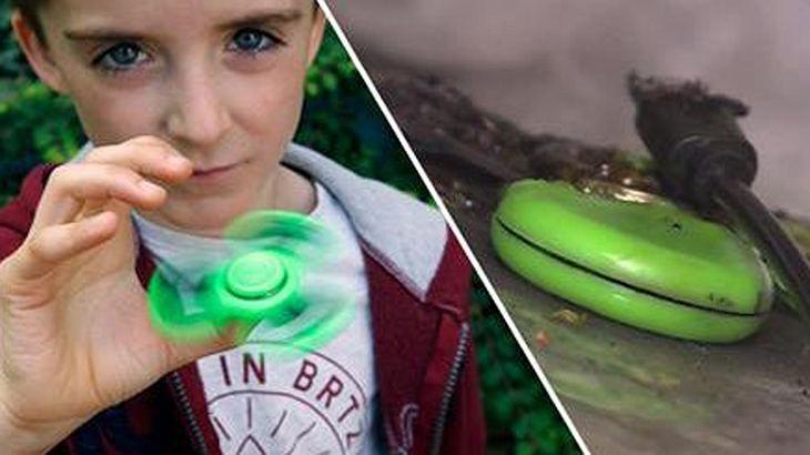Fidget Spinner: Einige Modelle des Trendspielzeugs sind in den USA explodiert