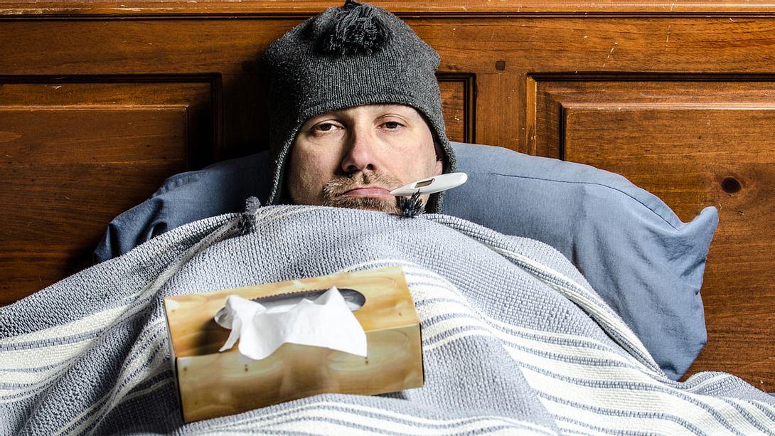 Fieber senken: Was tun bei Fieber? - Foto: iStock / marcduf