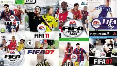 Quiz: Kennst du Namen aller FIFA-Cover-Stars?