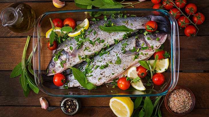 Omega-3-Fettsäuren: Frischer Fisch ist ein wesentlicher Bestandteil der mediterranen Küche