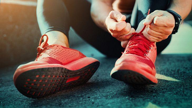 Fitnessschuhe Rot