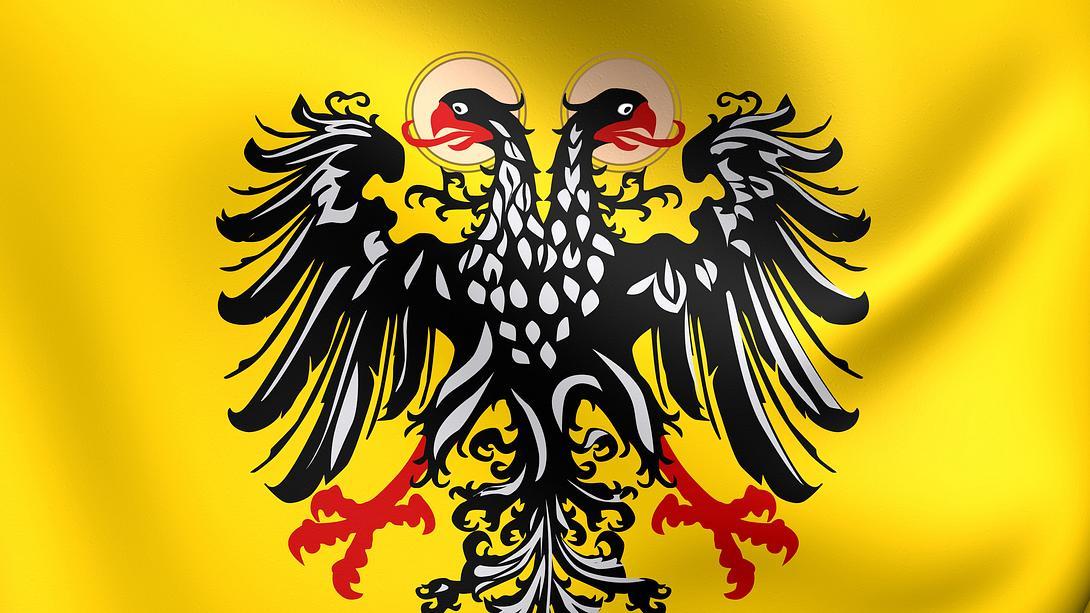 Flagge des Heiligen Römischen Reichs (1400-1806) - Foto: iStock / Privilegium maius