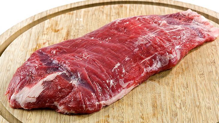 Flank-Steak, roh
