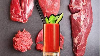 Metzger verkauft püriertes Fleisch als neuen Trend-Drink
