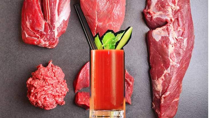 Bloody Smoothie: Deutscher Metzger vertreibt püriertes Fleisch als Drink