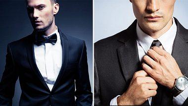 Dresscode: Wann trägt Mann eine Fliege - und wann eine Krawatte?