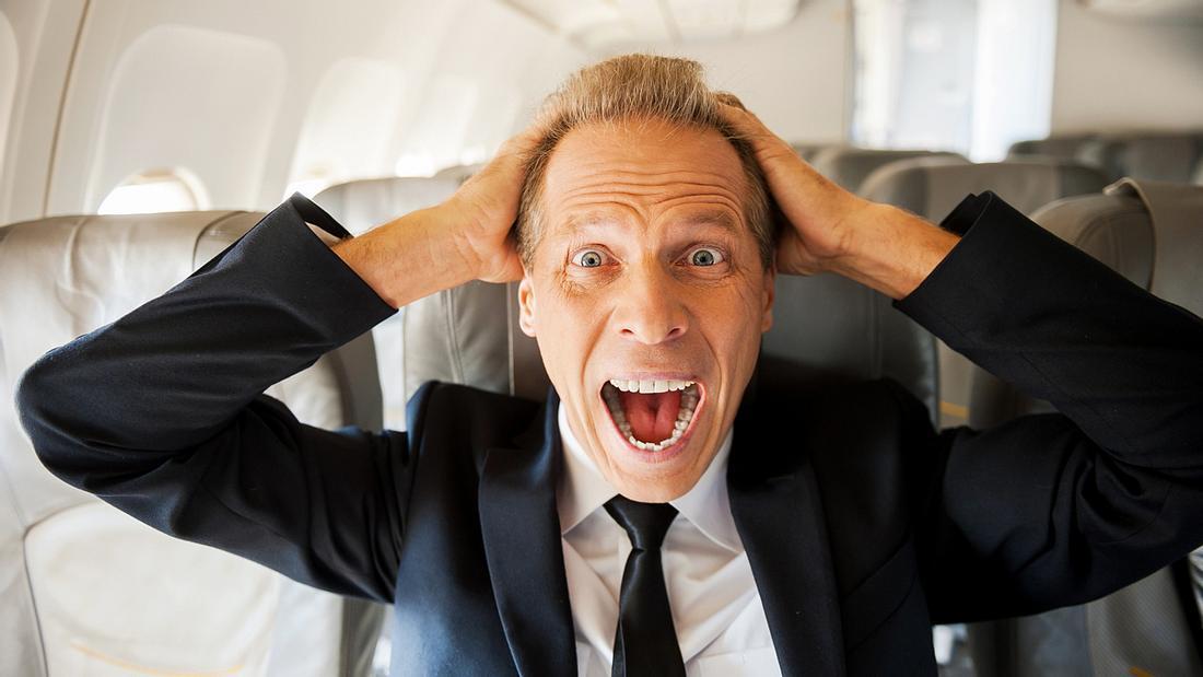 Das ist der gefährlichste Platz in jedem Flugzeug
