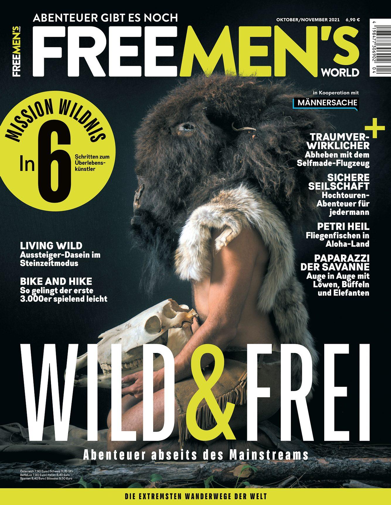 Cover der neuen FREEMEN'S WORLD
