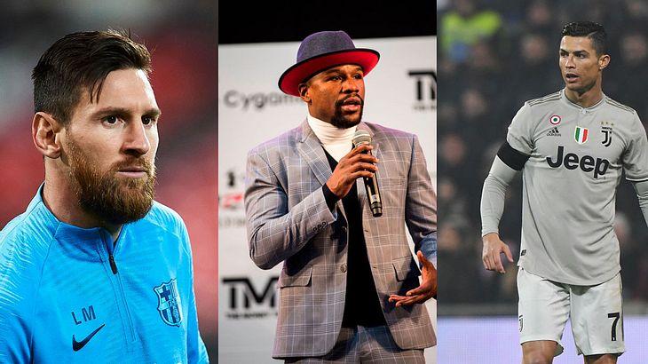 Messi, Mayweather, Cristiano Ronaldo - Forbes kürt Top 100 der bestbezahlten Sportler.
