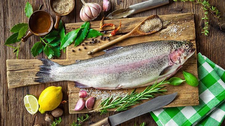 Fisch Gasgrill : Forelle grillen: rezepte für kohlegrill und gasgrill