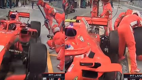 Formel 1: Schrecklicher Unfall in Boxengasse