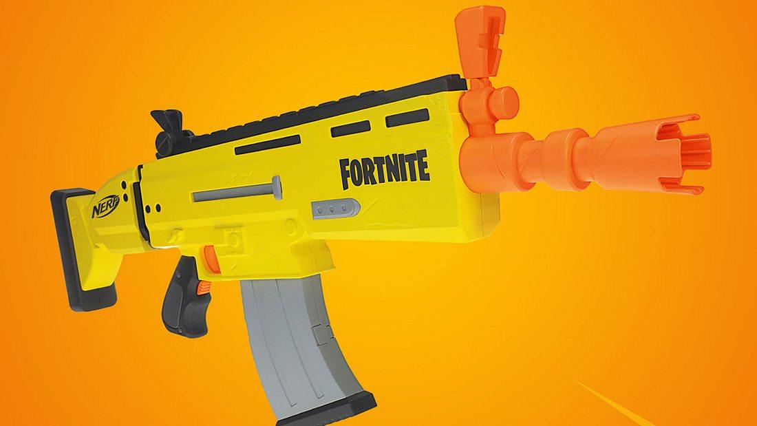 Die Fornite-Nerf-Gun SCAR