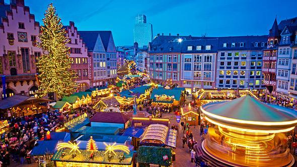 Die Top 5 Weihnachtsmärkte in Frankfurt