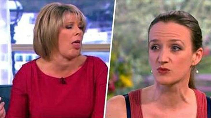 Kate Smurthwait hat sich 5 Jahre nicht die Achseln rasiert und zeigt das Ergebnis in der Talkshow This Morning