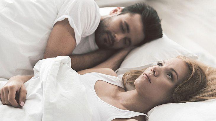 Frauen schlafen weniger als Männer (Symbolfoto).