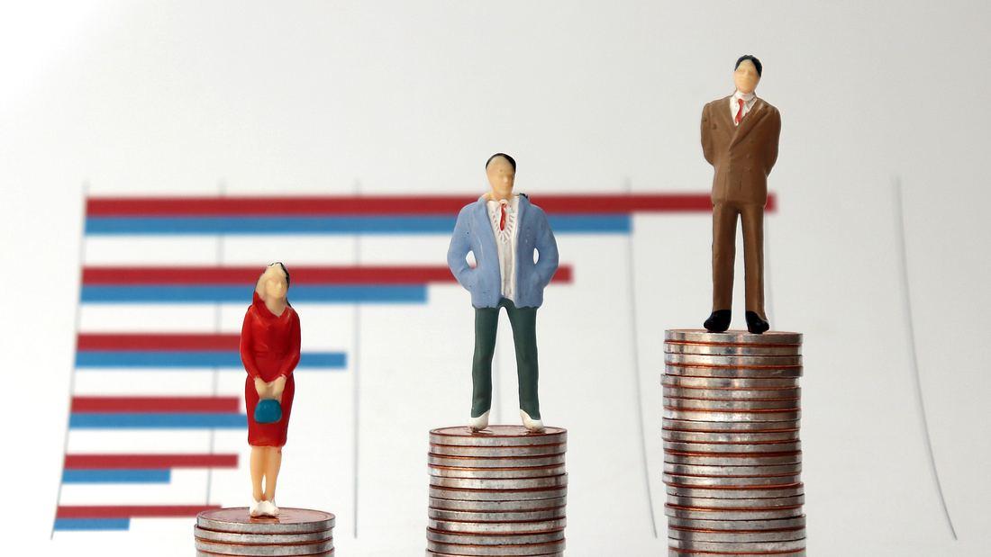 Frauen verdienen nach wie vor weniger Geld
