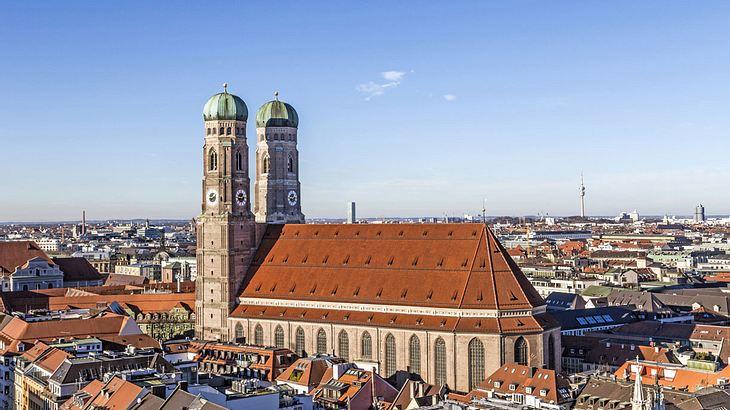 Frauenkirche in München.