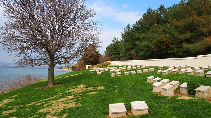 Friedhof am Ari Burnu Strand, Gallipoli
