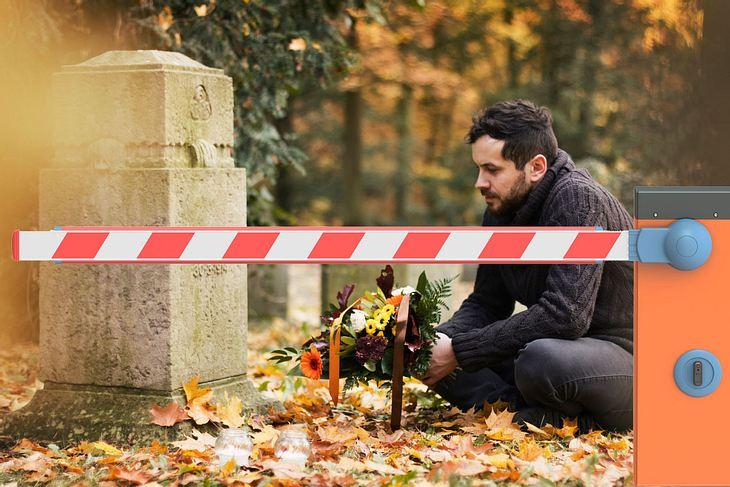 Friedhofs-Mautgebühr