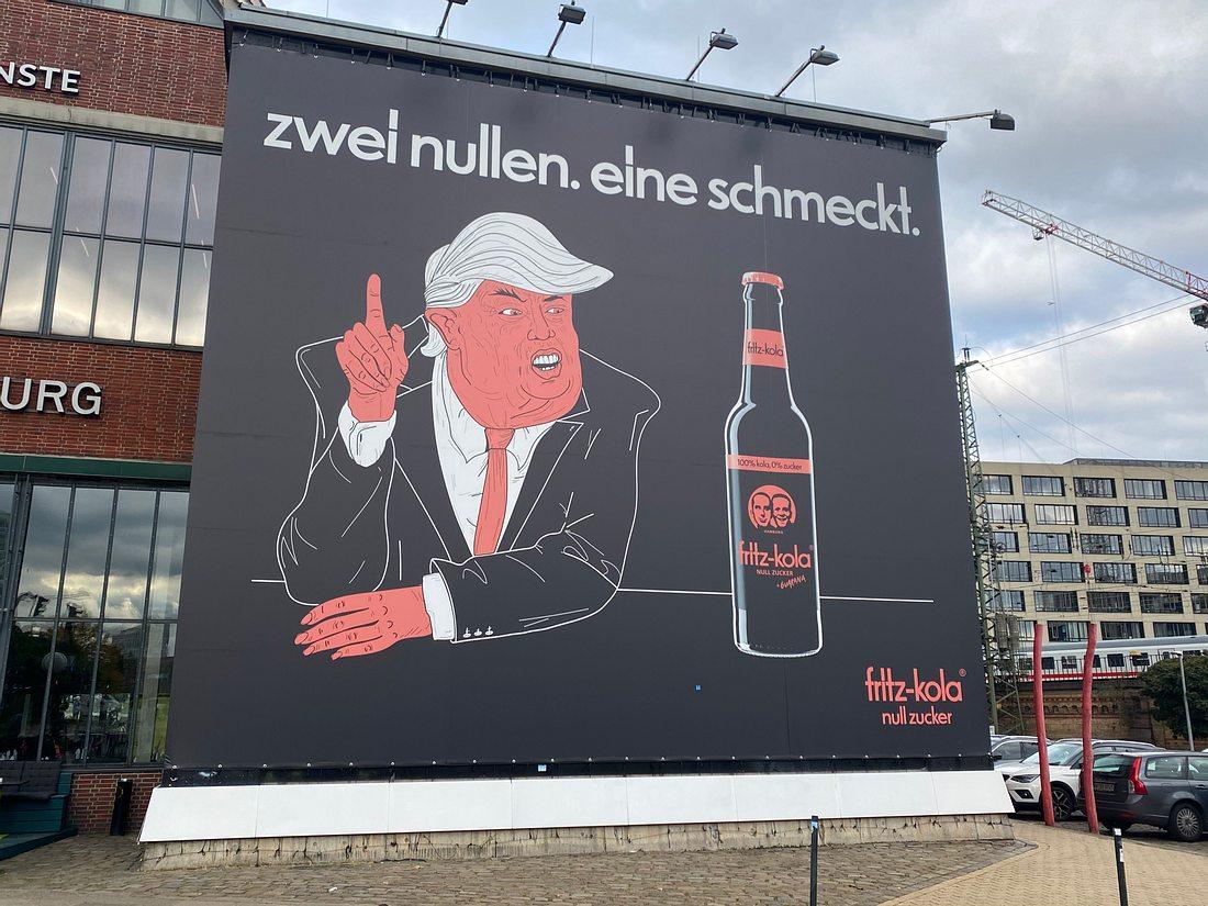 Fritz-Cola-Wahlplakat