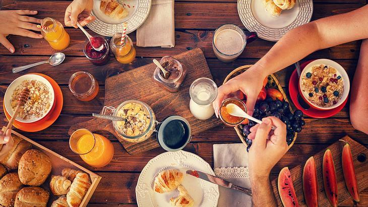 Reichhaltiges und leckeres Frühstück