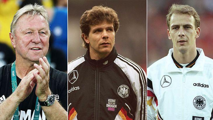 Die legendärsten Fußballer-Zitate (Collage).