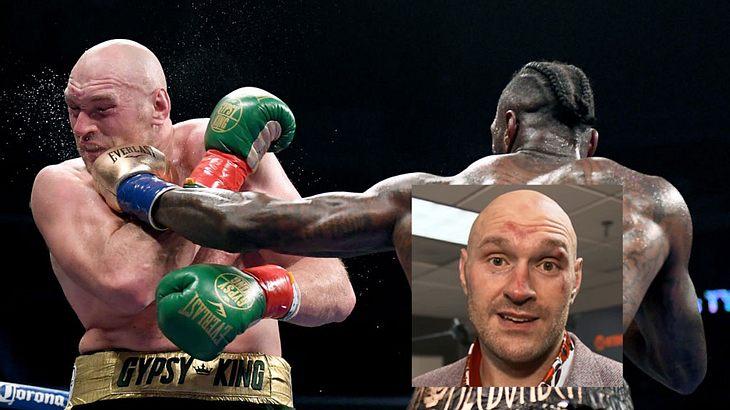 Tyson Fury nach Fight gegen Deontay Wilder mit emotionaler Botschaft.