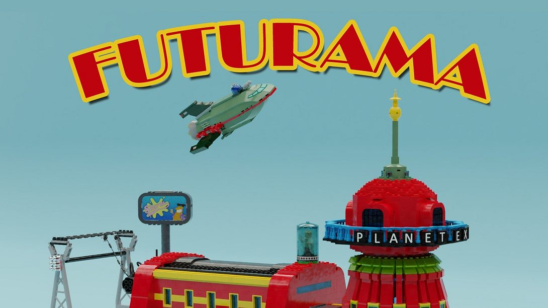 Futurama-Headquarter - Foto: Lego / ThomasW