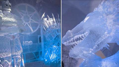 Snowvillage: Eishotel ganz im Stil von Game of Thrones