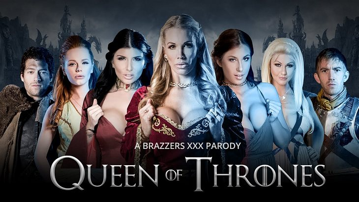 """Game of Thrones"" gibt es als Porno. Das ist der Trailer zu ""Queen of Thrones"""