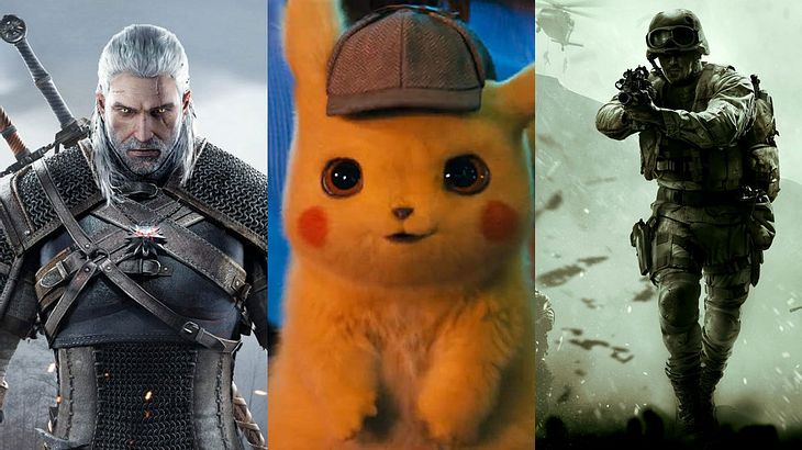The Witcher, Pokémon, Call of Duty