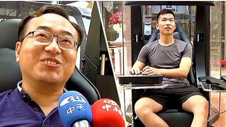 In diesem Einkaufszentrum können Ehemänner in Gaming-Kabinen zocken, während ihre Frauen shoppen