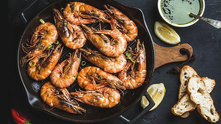 Garnelen grillen: Seafood-Grillen kann so einfach sein