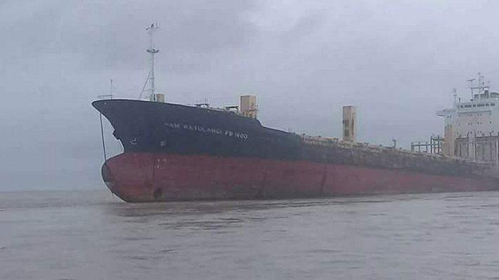 Gigantisches Geisterschiff vor Myanmars Küste aufgetaucht