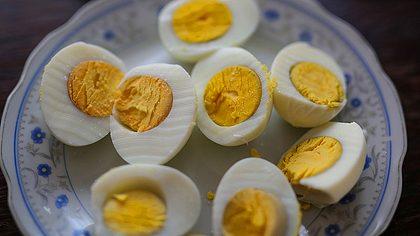 Gekochte Eier - Foto: iStock/hobo_018
