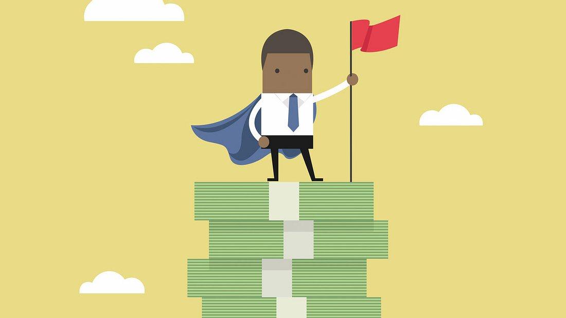 Geld sparen und Finanz-Held werden