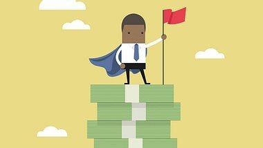 Geld sparen und Finanz-Held werden - Foto: iStock / iNueng