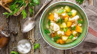 Gemüsesuppe-Rezept: So einfach gehts