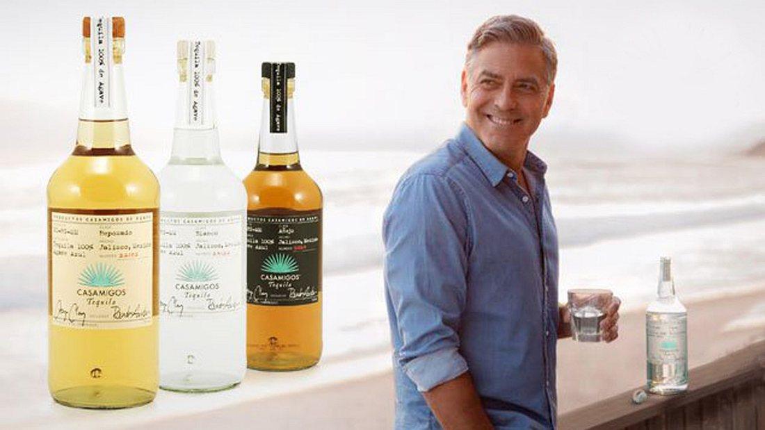 George Clooney, der Tequila-Millionär