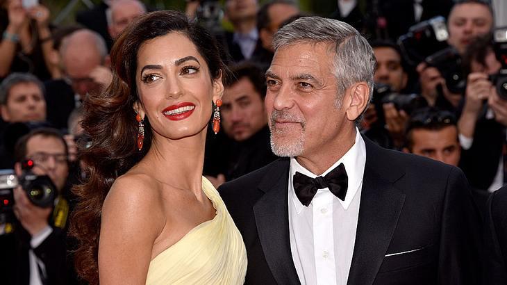 George Clooney mit Ehefrau Amal Clooney