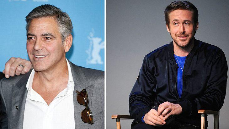 George Clooney und Ryan Gosling