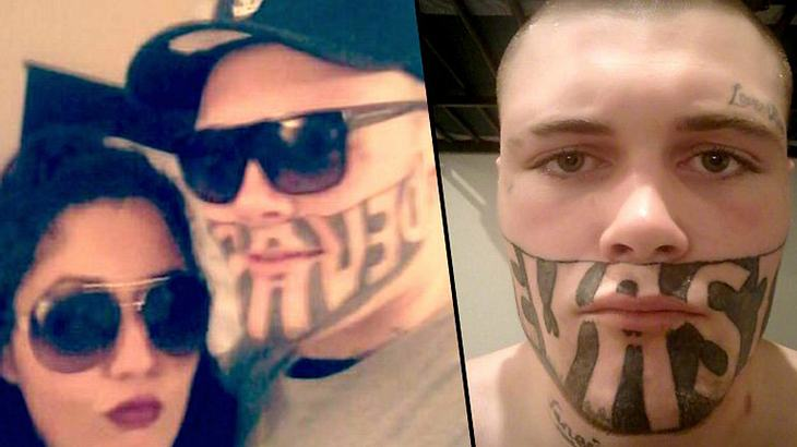 Wegen Gesichts-Tattoo: Dieser Mann findet keinen Job